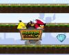 Angry Birds raudteel