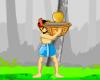 Paappy püüab kookospähkleid