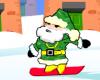 Jõuluvana lumelaual