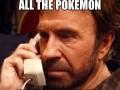 Chuck Norris Pokemon Go